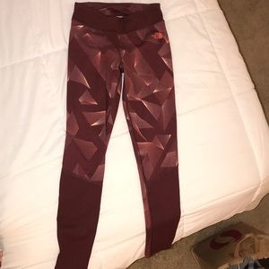 The North Face full length leggings size small